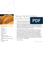 Tangy Apricot Braid 4x6
