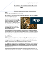 Bengal Tigers Project