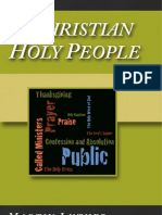A Christian Holy People