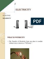 Wireless-Electricity PPT(Sai Rajesh)