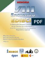 Actas_VIII_EDIBCIC - Libro La Dimensión Docente e Investigadora de las Ciencias de la Información... en Iberoamérica