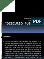 DISCURSO PUBLICO 4º medio