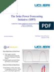 10 Solar Forecasting