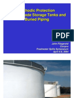 Cathodic Protection for Storage Tanks and Buried Piping