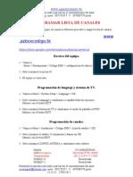 1 Manual Para Actualizar Los Receptores Azamerica