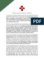 Carta Aberta à militância do Partido dos Trabalhadores_MAIS-PT