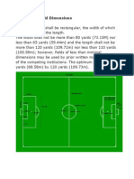 The Soccer Field Dimensions