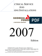 Georgia Power. Electrical Service & Metering Installations.blueBook[1]