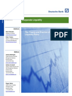 Corporate Liquidity Policy - Full Paper