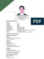 Resume' of Anrei
