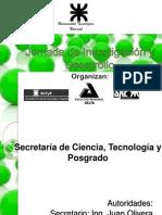 2° Jornada de Investigación y Desarrollo - 2012