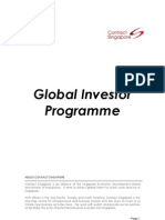 Global Investor Programme Factsheet