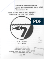 Atlas of the JOINT II 1977 aircraft winds for the 500 foot level