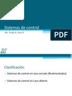 Clase 1 - Sistemas de Control