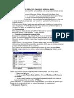 Enlazar Acces y Visual Basic Base de Datos