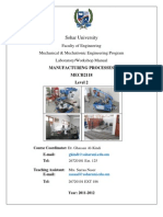Lab Manual MECH2118 2011