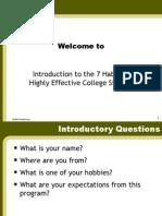 7 Habits Covey Collegiate PP