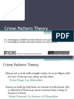Crime Pattern Theory