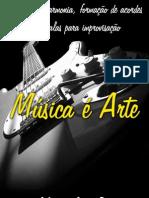 Método de harmonia, formação de acordes e escalas para improvisação.  Por_Gilmar Damião.