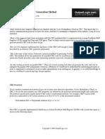 Parallel Crc Generator Whitepaper