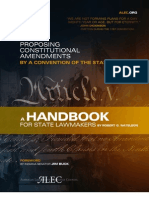 ALEC Article V Handbook - Or, How to Do a Con/Con