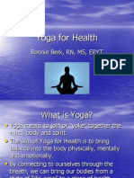 Yoga for Health Level One