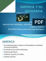 Geografia de America Presentacion