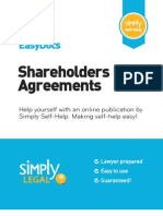 Preview Shareholders Agreement