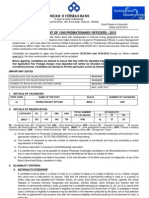 Indian Overseas Bank Probationary Officers Recruitment 2012