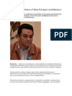 Telediario_26-03-2012_Partido Verde ofrece a Felipe Enríquez candidatura