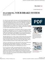 Popular Mechanics - Flushing Your Brake System
