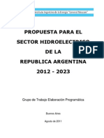 Propuesta IAE Sector Hid Roe Lect Rico Argentino 2012-2023 Rev 1