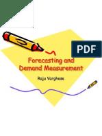 25599695 Forecasting and Demand Measurement