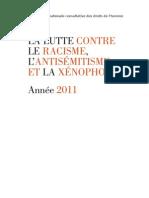 Rapport Racisme 2011 CNCDH