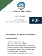 Nucleotide Metabolism, 2012
