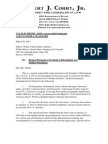 Rob Corry Freedom of Information Act Request to U.S. Attorney's Office