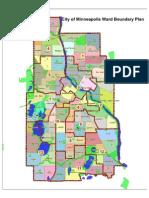 Minneapolis City Council ward map