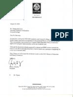 Official Letters CU