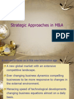 Strategic Approaches in M&A