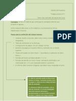 Gestión de Proyectos pautas presentacion impresa