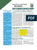 PWOC Keynote, April 2012