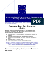 Competenccy Based Recriitment