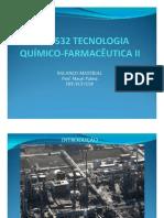 Tecnologia Químico-Farmacêutica II