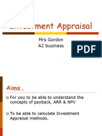 02 Investment Appraisal 1