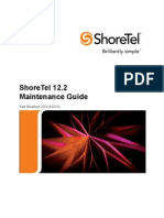 ShoreTel 12.2 Maintenance Guide