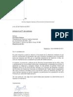 Carta de La Defensoria
