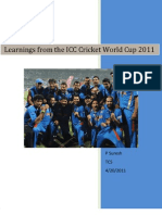 Lessons From ICC Cricket World Cup 2011v4