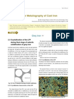 Colour Metallography of Cast Iron