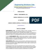 Curriculum Vitae Paeresambiental Ltda1