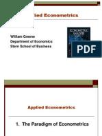 Econometrics-I-1